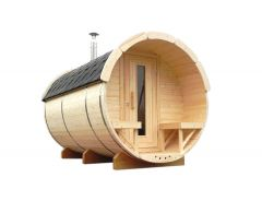 Sauna barrel Ø2.2 x 3 m